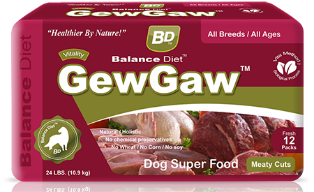 Balance Diet GewGaw Dog super food meaty cuts