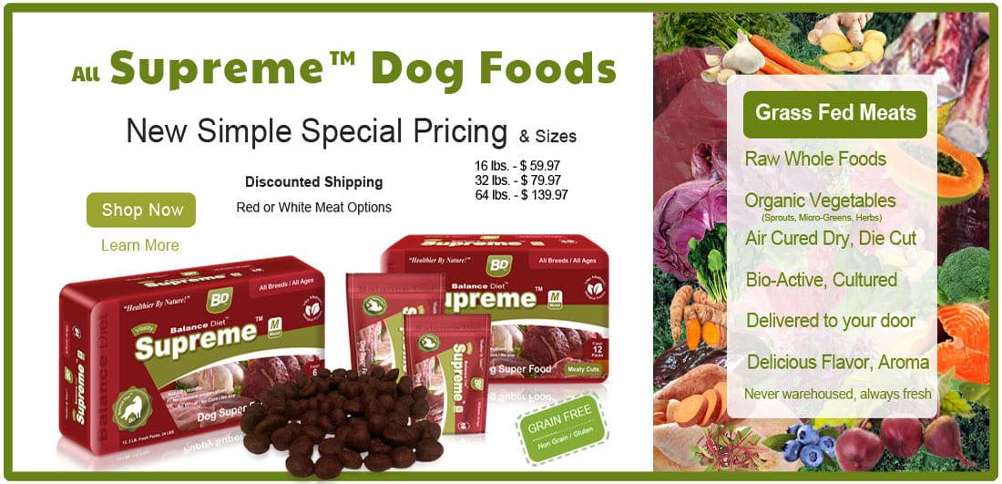 Balance Diet foods pricing