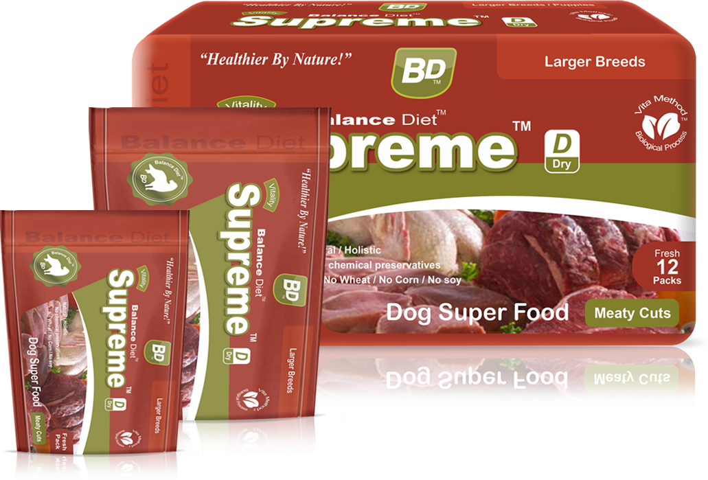 Balance Diet Supreme Dog superfood meaty cuts