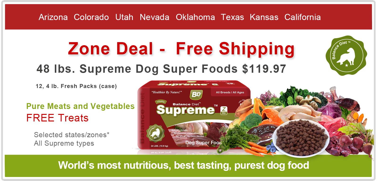 Balance Diet premium dog food most nutritious best tasting Dog Super fresh food for good health