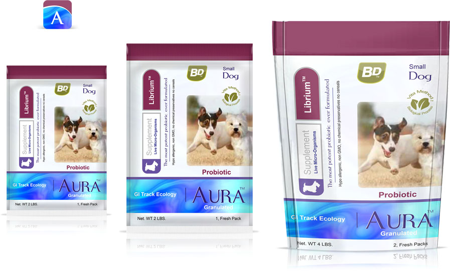 Balance Diet premium dog food for small dogs Aura granulated supplements for the best health care